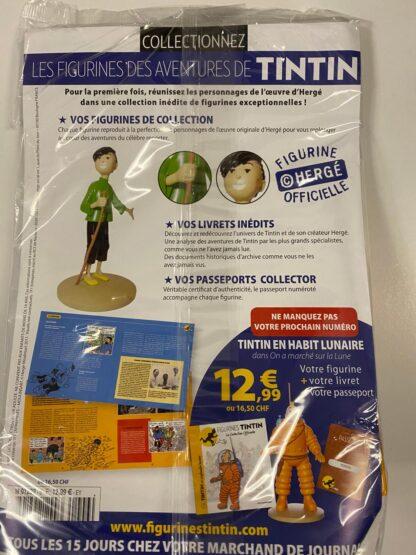 Tintin - Statyett N6 - Milou - RARE