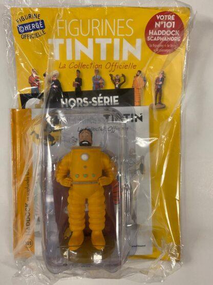 Tintin - Statyett N101 - Haddock Scaphandre Lunaire - RARE