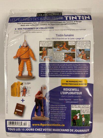 Tintin - Statyett N22 - Tintin Lunaire - RARE