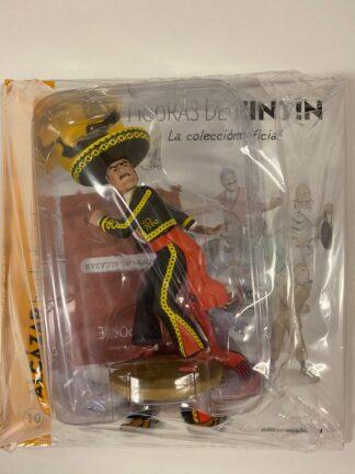 Tintin - Statyett N10 - Alcázar - RARE