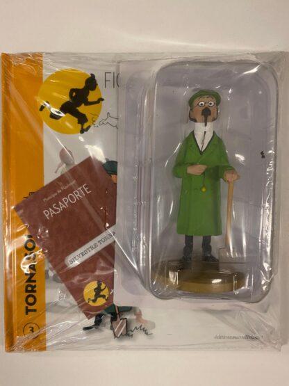 Tintin - Statyett N3 - Professor Kalkyl med spade - RARE