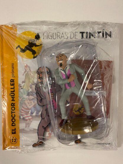 Tintin - Statyett N12 - Doctor Muller - RARE