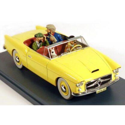 Tintin - 1:24 Modellbil #24 - Borduria Convertible