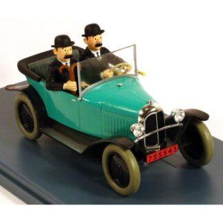 Tintin - 1:24 Modellbil #24 - Dupntarnas Citroen 5CV