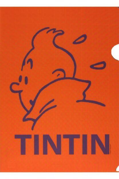 Tintin - Plastficka A4 - Orange