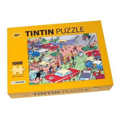 Tintin - Pussel - Rally