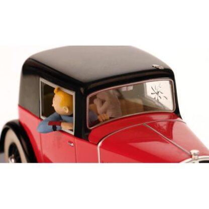 Tintin - 1:24 Modellbil #16 - Rosengart coupe spider