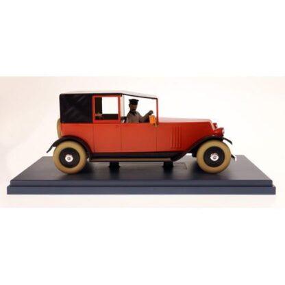 Tintin - 1:24 Modellbil #25 - Röd Taxi