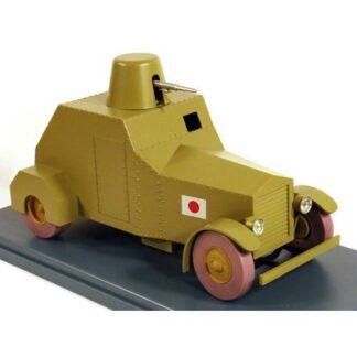 Tintin - 1:24 Modellbil #42 - Pansarbil
