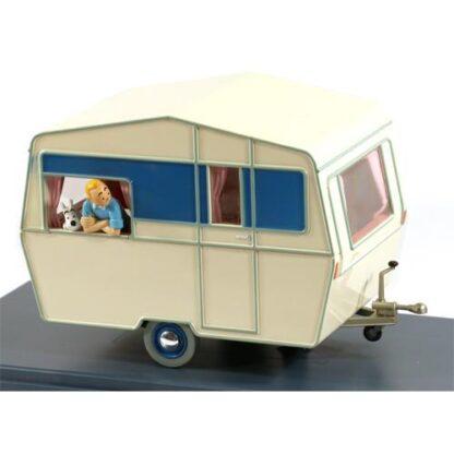 Tintin - 1:24 Modellbil #51 - Turist Husvagn