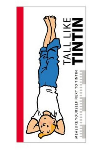 Tintin - Poster - Längdmätare